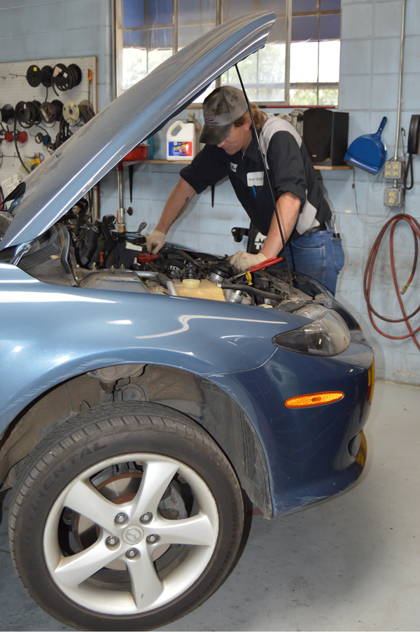 Professional Mechanic at Work in Fort Collins, CO | All-Tech Automotive